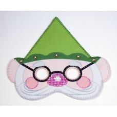 Набор для шитья и вышивания карнавальная маска МП-25,5х25 - 8343 Гномик