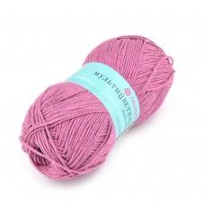 Пряжа для вязания ПЕХ Мультицветная (65% полиэстер, 35% хлопок) 5х50г/180м цв.021 брусника