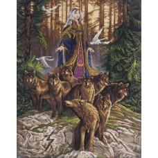 Набор для вышивания PANNA Золотая серия  СО-1857 Сила Новолетия 32х43 см