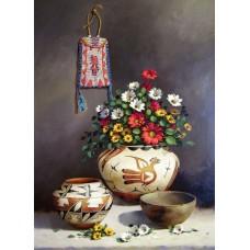 Набор для изготовления картин АЛМАЗНАЯ ЖИВОПИСЬ АЖ.1253 Греческий  натюрморт 40х55 см