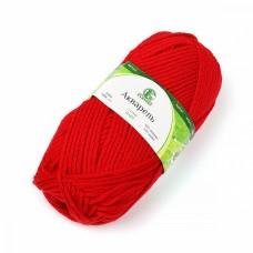 Пряжа для вязания КАМТ Акварель (50% леакрил, 50% акрил) 5х100г/110м цв.046 красный