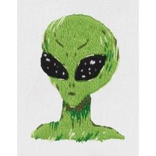 Набор для вышивания PANNA Живая картина  JK-2202 Инопланетянин 3,5х5см