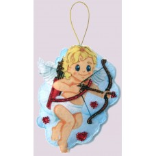 Наборы для вышивания декоративных игрушек BUTTERFLY  F094 Амурчик