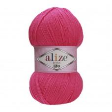 Пряжа для вязания Ализе Extra Life (100% акрил) 5х100г/480м цв.923 т.фуксия