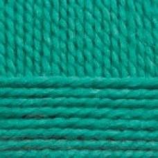 Пряжа для вязания ПЕХ Северная (30% ангора, 30% полутонкая шерсть, 40% акрил) 10х50г/50м цв.335 изумруд