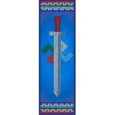 Набор для вышивания ВЫШИВАЛЬНАЯ МОЗАИКА  0152СО Славянский оберег Символ Расы 5,5х19 см