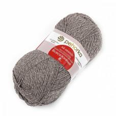 Пряжа для вязания ПЕХ Всесезонная (25% шерсть, 30% хлопок, 45%акрил) 5х100г/320м цв.274 серо-бежевый