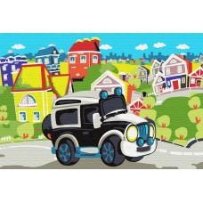 Набор юного художника Molly KH0891 В сказочном городке (15 Цветов) 20х30 см