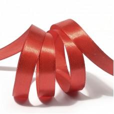 Лента атласная 1/2 (12мм) цв.3095 красный IDEAL уп.27,4 м