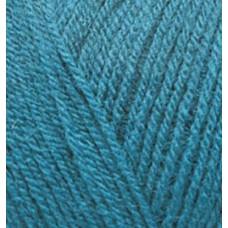 Пряжа для вязания Ализе Superlana TIG (25% шерсть, 75% акрил) 5х100г/570 м цв.212 петроль