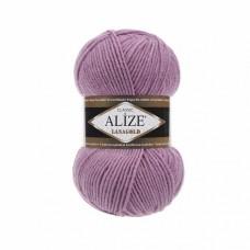 Пряжа для вязания Ализе LanaGold (49% шерсть, 51% акрил) 5х100г/240м цв.028 роза