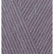 Пряжа для вязания Ализе Diva (100% микрофибра) 5х100г/350м цв.348 т.серый