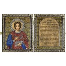 Наборы для вышивания бисером НОВА СЛОБОДА СА7108 Св. Великомученик и Целитель Пантелеймон