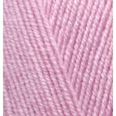 Пряжа для вязания Ализе LanaGold Fine (49% шерсть, 51% акрил) 5х100г/390м цв.098 розовый