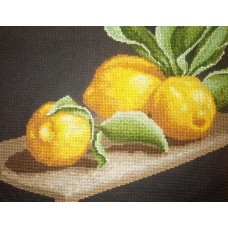 Набор для вышивания ИВАНКА 0-06 Лимоны на столе 25х19см