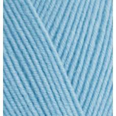 Пряжа для вязания Ализе Happy Baby (65% акрил, 35% полиамид) 5х100г/350м цв.218 детский голубой