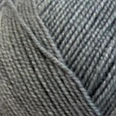 Пряжа для вязания ПЕХ Бисерная (100% акрил) 5х100г/450м цв.048 серый
