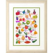 Набор для вышивания DIMENSIONS DMS-70-35368 Фрукты и овощи 25,4х35,6 см
