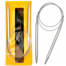 Спицы для вязания  круговые Maxwell,  металл 80-70  d=7,0 мм  80 см