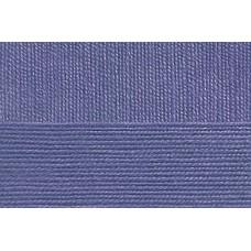 Пряжа для вязания ПЕХ Народная классика (30% шерсть, 70% акрил) 5х100г/400м цв.022 сирень