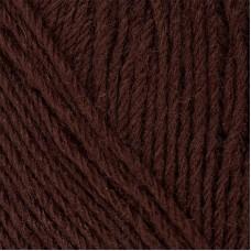 Пряжа для вязания ПЕХ Детский каприз трикотажный (50% мериносовая шерсть, 50% фибра) 5х50г/400м цв.251 коричневый