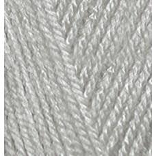 Пряжа для вязания Ализе Baby Best (90% акрил, 10% бамбук) 5х100г/240м цв.344 серый