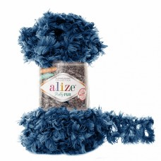 Пряжа для вязания Ализе Puffy Fur (100% полиэстер) 5х100г/6м цв.6114