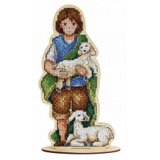 Набор для вышивания Щепка О-028 Пастушок 10х18 см