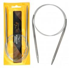 Спицы для вязания круговые Maxwell Gold, металлические на тросике 100-55 ?5,5 мм /100 см