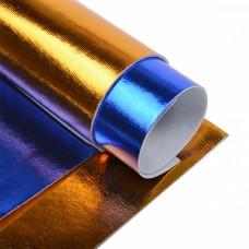 Набор листового фетра металлизированный IDEAL 1,4мм 20х30см FLT-ME1 уп.4 листа цв.ассорти