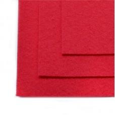 Фетр листовой жесткий IDEAL 1мм 20х30см FLT-H1 уп.10 листов цв.610 т.розовый