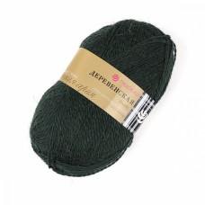 Пряжа для вязания ПЕХ Деревенская (100% полугрубая шерсть) 10х100г/250м цв.381 лавр