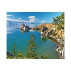 Картины по номерам Molly KH0819 Озеро Байкал (24 цвета) 40х50 см