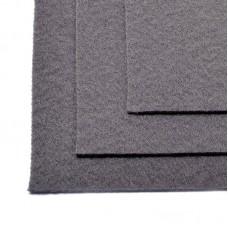 Фетр листовой мягкий IDEAL 1мм 20х30см FLT-S1 уп.10 листов цв.694 серый