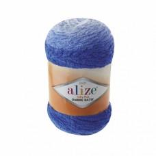 Пряжа для вязания Ализе Softy Plus Ombre Batik (100% микрополиэстер) 1х500г/600м цв.7282