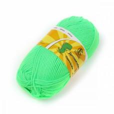 Пряжа для вязания КАМТ Детская забава (20% микрофибра, 80% объемный акрил) 10х50г/140м цв.027 незрелый лимон