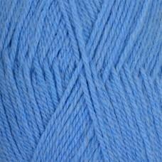 Пряжа для вязания ПЕХ Джинсовый Ряд (50% шерсть, 50% акрил) 10х100г/250м цв.777 т.голубой меланж