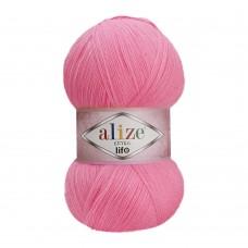 Пряжа для вязания Ализе Extra Life (100% акрил) 5х100г/480м цв.922 т.розовый