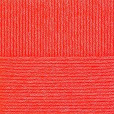 Пряжа для вязания ПЕХ Молодёжная (91% акрил высокообъемный, 9% полиамид) 5х200г/280м цв.058 коралл