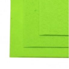 Фетр листовой жесткий IDEAL 1мм 20х30см FLT-H1 уп.10 листов цв.674 салатовый
