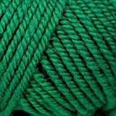 Пряжа для вязания ПЕХ Популярная (50% импортная шерсть, 45% акрил, 5% акрил высокообъёмный) 10х100г/133м цв.480 ярк.зелень