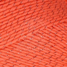 Пряжа для вязания КАМТ Праздничная (48% кашмилон, 48% акрил, 4% метанит) 10х50г/160м цв.126 коралл яркий