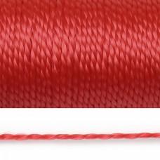 Нить полипропиленовая 01мм цв.красный уп.50м