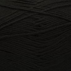 Пряжа для вязания ПЕХ Детская объёмная (100% микрофибра) 5х100г/400м цв.002 черный