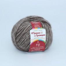 Пряжа для вязания ТРО Фиджи (20% мериносовая шерсть, 60% хлопок, 20% акрил) 5х50г/95м цв.0416 св.коричневый