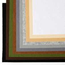 Набор листового фетра (мягкий) IDEAL 1мм 20х30см FLT-SA9 уп.10 листов цв.темное ассорти