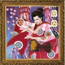 Рисунок на ткани бисер НОВА СЛОБОДА МАХ.БИС 3105  Музыка весны