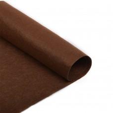 Фетр в рулоне полужесткий IDEAL 1мм 100см FLT-HS2 уп.5м цв.065 коричневый