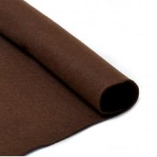 Фетр в рулоне жесткий IDEAL 1мм 100см FLT-H2 уп.10м цв.687 коричневый