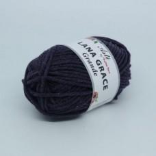 Пряжа для вязания ТРО LANA GRACE Grande (25% мериносовая шерсть, 75% акрил супер софт) 5х100г/65м цв.8130 меланж (фиолетовый)